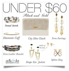 Black and gold S&D accessories for under $60!