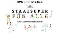 Opera for All - Staatsoper für alle  promises to be a highlight of the Berlin cultural summer with an open-air concert of Staatskapelle Berlin under the baton of Daniel Barenboim and a guest appearance of violinist Lisa Batiashvili. As always, the entry is free! June 16, 2013