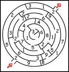 Add numbers in a maze. Count the numbers that you encounter on the shortest path through the labyrinth. The sum is then the code or part of the code. That again leads the next part of the quest. Room Escape Games, Escape Room Diy, Escape Room For Kids, Escape Room Puzzles, Geocaching, Exit Games, Exit Room, Breakout Edu, Breakout Game