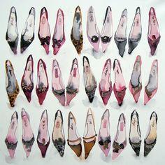 Pointy Shoes  Bridget Davies