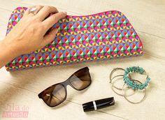 Tutorial Vila do Artesão - Aprenda cartonagem: bolsas femininas