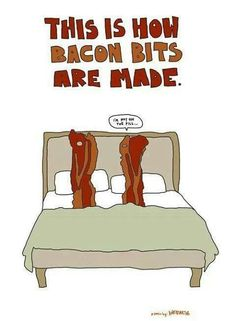 How bacon is made.