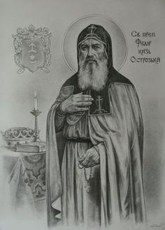 Προσκυνητής: Όσιος Θεόδωρος πρίγκηπας του Οστρόγκ(+11 Αυγούστου... Faith Of Our Fathers, Catholic, Spirituality, Icons, Quotes, Santos, Art, Qoutes, Roman Catholic