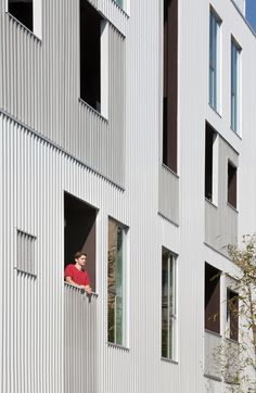 LA apartments by LOHA feature balconies with perforated panels