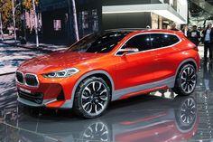 La BMW X2 Concept anticipa la versione di serie destinata a competere con la Range Rover Evoque.