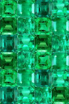 Smaragd,  Muster © Chri-stoff_Charming