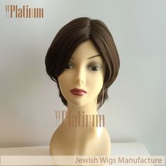 Natural Looking #european #hair #medical #wigs for #cancer with #kosher #tag. More info, please view our website or add my whatsapp+8615964264679