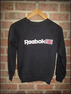 Vintage 80's Reebok Crewneck Sweatshirt   Size by CharchaicVintage, $20.00