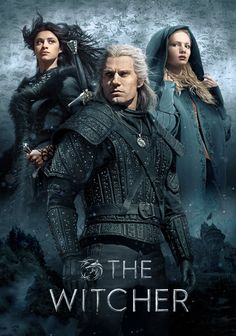 """""""The Witcher"""" is a Netflix original web series with a massive budget. The Witcher is one of the best web series released on The Witcher is a creative imagination of Andrzej Sapowski which is being visualised by high class animation and graphics and VFX. The Witcher Film, The Witcher Series, The Witcher Geralt, The Witcher Game, The Witcher Books, Series Movies, Hd Movies, Movies And Tv Shows, Movie Tv"""