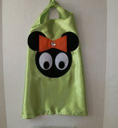 PROCASTINTOR SPECIAL Minnie Mouse Cape single by CupcakeCutieKids, $14.99