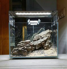 ADA Mini M / Cube Garden / Aquasky 361 X 2 ADA Super Jet ES-150 Aqua Soil Amazonia / Colorado sand. SHARED by Adam Paszczela on facebook .... Pin by Aqua Poolkoh