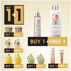 1-31 Jul 2015: The Face Shop Buy 1 FREE 1 Promotion