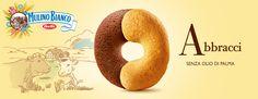 Abbracci - Mulino Bianco Biscotti, Truffles, Cookies, Amigurumi, Recipies, Crack Crackers, Biscuits, Truffle, Cookie Recipes
