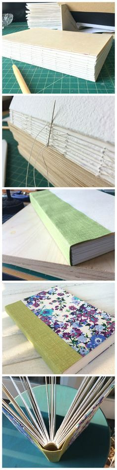 Gary Frost's Sewn Boards binding