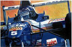 Galleries : Brian James Automobile Art