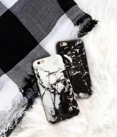 Black & White ⚫️⚪️ Marble Case from Elemental Cases. Available for iPhone 6/6s and 6 Plus/6s Plus.