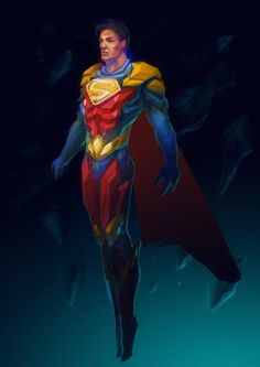 SuperMan redesign by Meilous on DeviantArt