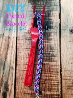 Outnumbered 3 to 1: #DIY Fishtail Bracelet