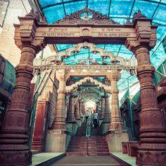 Sachiya Mata temple at Osian Rajasthan.  #travel #travelgoals #india #classic #religious #gate #stairs #india #incredibleindia #jaisalmer #jodhpur #amazing #photography #travelphotography #trip #canon #wideangle #depth