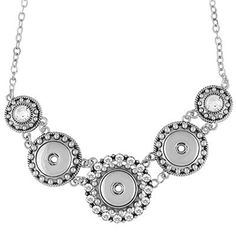 3-Snap Statement Necklace - Gingersnaps!