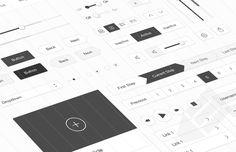 Medialoot - Minimal White UI Kit
