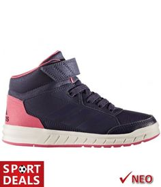Adidas altasport mid el k κοριτσιστικο μποτακι δερματινο μπλε φουξια 5f6b60ab502