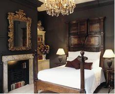 Deluxe Room at Hazlitts Hotel London Bedroom Sets, Home Bedroom, Modern Bedroom, Bedroom Decor, Trendy Bedroom, Baby Bedroom, Master Bedroom, Beautiful Bedrooms, Beautiful Interiors