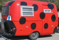 My friend found my trailer on Pinterest so of course I had to repin it. Just started the Ladybug Art Gallery website at www.sherrytobin.com