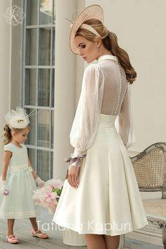 Short Wedding Dresses : Tatiana Kaplun Bridal Collection 2016 Lady of Quality Short Dresses, Prom Dresses, Formal Dresses, Wedding Dresses, Wedding Bridesmaids, Bridesmaid Dresses, Bridal Outfits, Bridal Gowns, Pretty Dresses