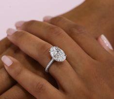 Wedding Rings Simple, Wedding Rings Solitaire, Princess Cut Engagement Rings, Beautiful Engagement Rings, Wedding Rings Vintage, Engagement Ring Cuts, Bridal Rings, Solitaire Diamond, Princess Wedding