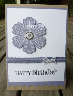 HAPPY HEART CARDS: STAMPIN' UP!'S AUTUMN-WINTER MINI FLOWER CARDS