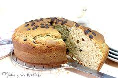 JULIA Y SUS RECETAS: Bizcocho de mantequilla de cacahuete Biscuits, Sandwiches, Yogurt, Chocolate, Sweets, Bread, Breakfast, Food, Butter Pound Cake