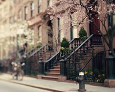"""sometimes i feel so lucky just to live on this block"" - Carrie Bradshaw. I wish!"