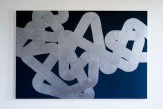 Pippo Lionni, UNTITLED 206, 2013, acrylic on canvas, 130x195cm
