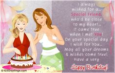 Birthday Wishes Best Friend Greetings Happy Quotes Sayings