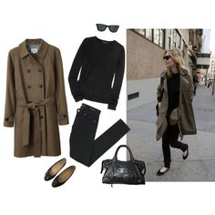 Untitled #257 by eizhowa on Polyvore featuring Theory, Steven Alan, Yves Saint Laurent, Chanel, Balenciaga and Ray-Ban