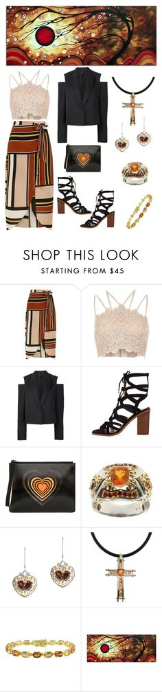 """""""Inspires Me"""" by karen-galves on Polyvore featuring River Island, Vera Wang, Christopher Kane, Michael Valitutti, Amour and Silhouette"""