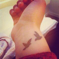 flying  birds Small Wrist Tattoos for Women | Bird Wrist Tattoos – Designs and Ideas