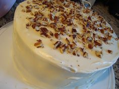 Hummingbird Cake - Had this from a restaurant on Sunday for the first time and it is SO wonderful.  I think I found my new favorite cake!