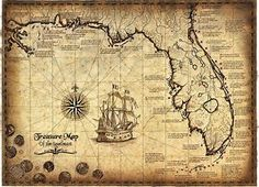 Image result for Popular Historical Treasure Maps