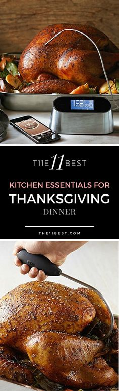 Cooking Thanksgiving dinner at your house this year? Whether this is your first time cooking a turkey or you're a seasoned professional, here are 11 essential accessories you will need for the perfect Turkey dinner.