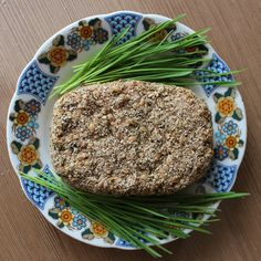 Сыроедческий живой хлеб (фото-рецепт)