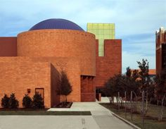 Fort Worth Museum of Science and History - The Omni Theatre (round-domed building) is an amazing place to see a movie!