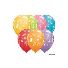Luftballons Garten Ø 28 cm - Qualatex - 5 Stück