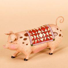 JIM SHORE PENNSYLVANIA DUTCH PIG