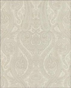 Interior Place - Off White Forsythe Paisley Wallpaper, 32.64 £ (http://www.interiorplace.com/off-white-forsythe-paisley-wallpaper/)