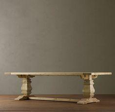Restoration Hardware Trestle Table | ... Trestle Extension Dining Tables | All Rectangular Tables | Restoration