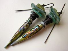 Earrings Everyday: 2014 Has Left the Building by LoveRoot on Etsy