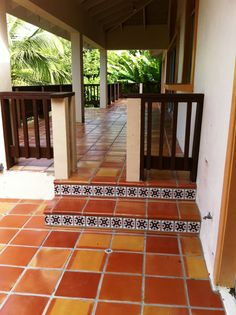 Saltillo tile is great for really any room inside or outside. Give us a call at Mexican Tile Designs and we can walk you through\u2026 & Saltillo tile is great for really any room inside or outside. Give ...
