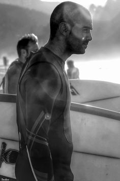 The surfer by Donibane #b&w #portrait #retrato #people #persona #donibane